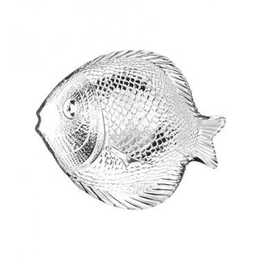 Стъклена чиния риба 19,8см MARINE - Pasabahce