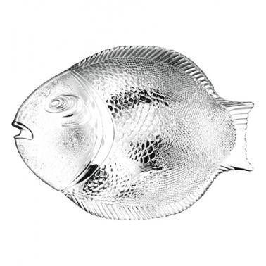 Стъклена чиния риба 35,5см MARINE - Pasabahce