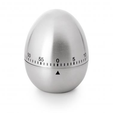 Иноксов таймер яйце до60 минути ф6см h7.5см - WAS
