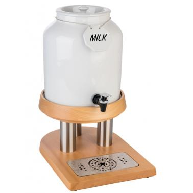 Порцеланов диспенсър за мляко, 23 x 38,5см, 10л  - APS