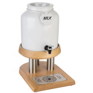 Порцеланов контейнер за диспенсър за мляко 10л без кранче - APS