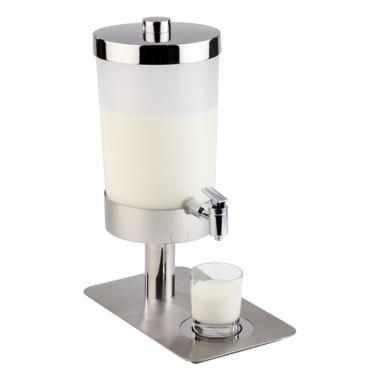 Диспенсър за мляко, 21х35х48см с 2 охладителя, 6л SUNDAY - APS