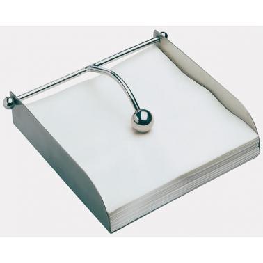 Иноксов държач за салфетки 17х17см - APS