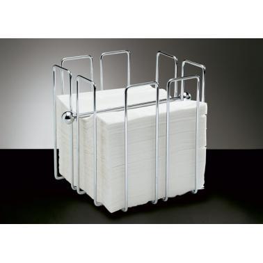 Иноксов държач за салфетки 19х19см WIRЕ - APS