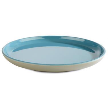 Меламинова чиния  сиво/синьо ф16см  ASIA PLUS  - APS