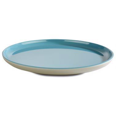 Меламинова чиния  сиво/синьо  ф19,5см  ASIA PLUS  - APS