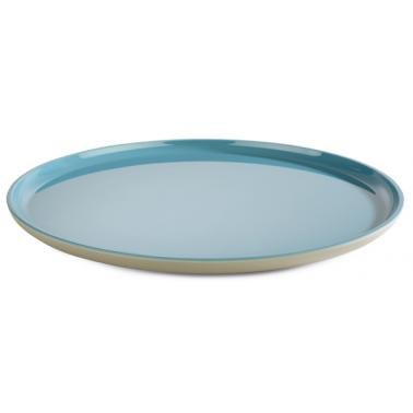 Меламинова чиния  сиво/синьо ф28см  ASIA PLUS  - APS