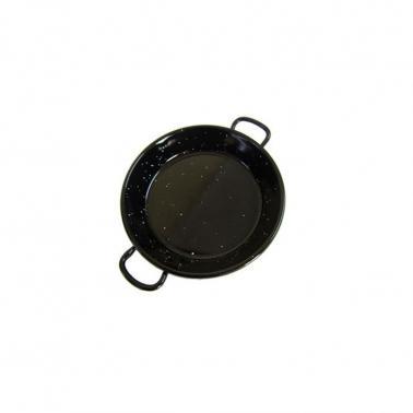Емайлирана тава за паеля черна ф10см   VALENCIANA  20210 - Garcima