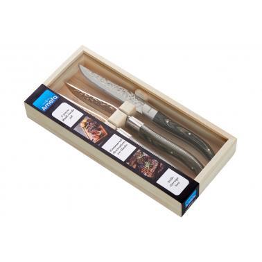 Комплект 4 бр ножове за стек Royal Steak на точки, дърво - Amefa