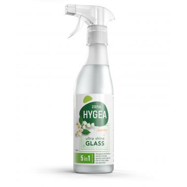 Препарат за почистване на стъкла , помпа, 500мл - ЖАСМИН HYGEA - BULENERGY