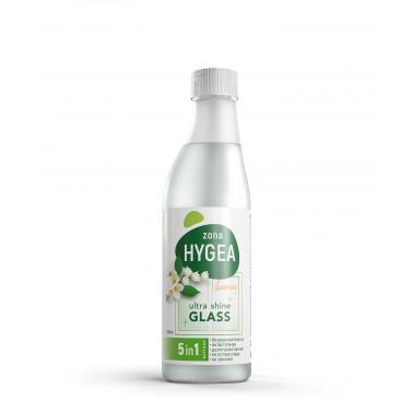 Препарат за почистване на стъкла , пълнител, 500мл - ЖАСМИН HYGEA - BULENERGY