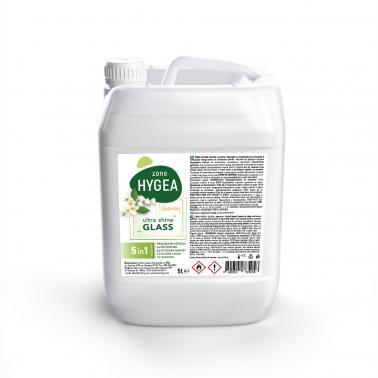 Препарат за почистване на стъкла , туба 5л - ЖАСМИН HYGEA - BULENERGY