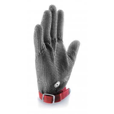 Иноксова средна  ръкавица за транжиране  червена  размер 8   - Lacor