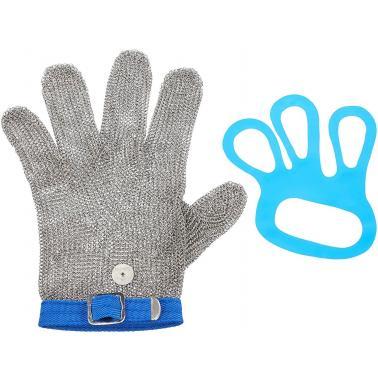 Иноксова голяма  ръкавица за транжиране синя  размер 9 - Lacor