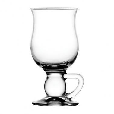 Стъклена чаша за ирландско кафе / топли напитки  на столче 270мл IRISH COFFEE - Pasabahce