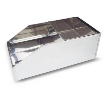 Иноксов уред за пресяване на брашно 18х37х26.5см Escurridores - Lacor