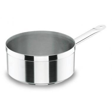 Иноксова касерола  Chef-Luxe ф12см  h7см  750мл - Lacor