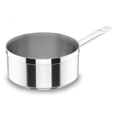 Иноксова касерола   Chef-Luxe ф14см   h7.5см  1.1л - Lacor