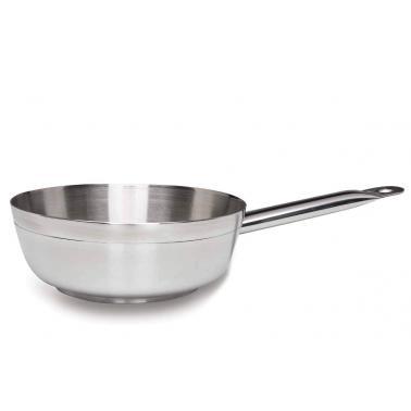 Иноксов тиган  за сос конусовиден Chef-Luxe  ф24см h7.5см  2.7л  - Lacor