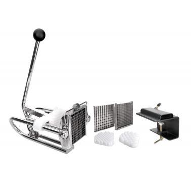 Иноксова машина за рязане на картофи с 3 приставки - Lacor