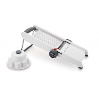 Ренде мандолина , Smart, бяло, инокс/пластмаса 38х17.5х15.5см - Lacor
