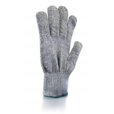 Кухненска ръкавица за рязане размер М 24см  полиетилен/полиестер/стъклени влакна  - Lacor