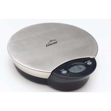 Електронна кухненска везна от 1гр до 5кг  15.5х12см - Lacor