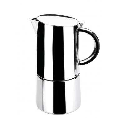 Иноксова кафеварка за еспресо 18/10, за 4 кафета Moka - Lacor