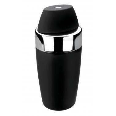 Иноксов шейкър  черен ф9х20см   500мл - Lacor