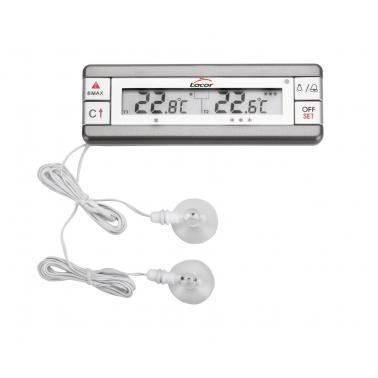 Дигитален термометър  за фризер/хладилник  0°C-70°C и -40°C - 0°C - Lacor