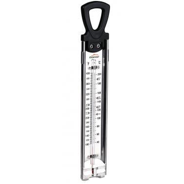Аналогов термометър за мазнина  5х30.5см   от 40  до 200 градуса  - Lacor