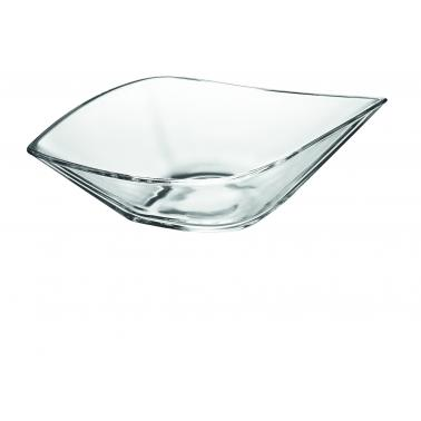Стъклена купа 37.5 х 22см LEAF 61201 - VIDIVI