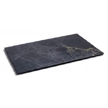 Меламиново плато правоъгълно 35x28,5xh0,9см COLECCIÓN STONE - Lacor