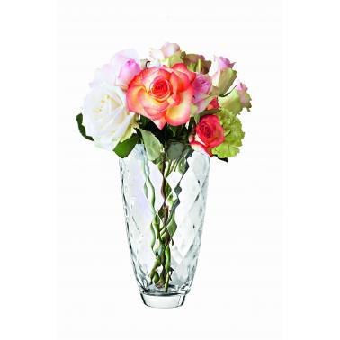 Стъклена ваза  h30см CONCERTO 66179 - VIDIVI