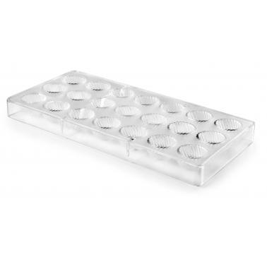 Форма за бонбони, полистирен , ф2.8см, h1.9см (външна част : 27.5х13.5см) - Lacor