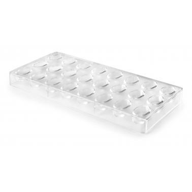 Форма за бонбони, полистирен , 3.2х1.9см, h1.2см (външна част : 27.5х13.5см) - Lacor