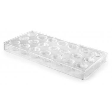 Форма за бонбони, полистирен , ф2.55см, h1.9см (външна част : 27.5х13.5см) - Lacor