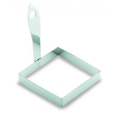 Иноксова форма квадрат с дръжка 8.5x8.5см 68006 - Lacor