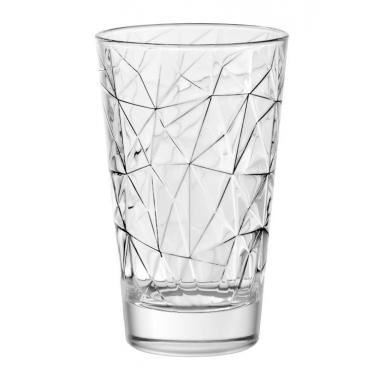 Стъклена чаша за безалкохолно / алкохол  280мл DOLOMITI 68055 - VIDIVI