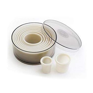 Комплект найлонови рингове, h3.5см, 9бр MAX 40°C 68091 - Lacor