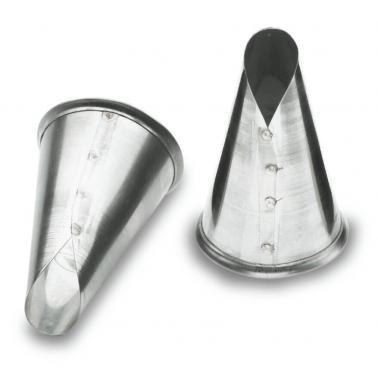 Иноксов накрайник за пош, капка, ф20мм - Lacor
