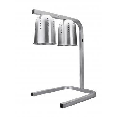 Отопляема лампа за бюфет с 2 крушки, алуминиева, 550W, 36х45х61 - 75 см - Lacor
