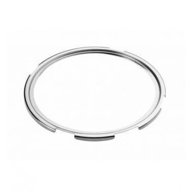 Иноксова кръгла рамка за индукционен нагревател за бен мари ф27см Luxe - Lacor