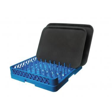 Полипропиленова кошница за съдомиялна с отворена страна, 50х50х10.3см - Lacor