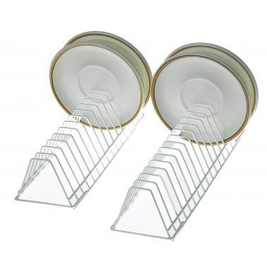 Метална стойка за чинии , 31х9.5х7см, 15 чинии - Lacor