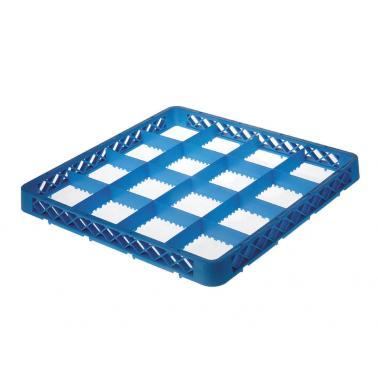 Полипропиленов удължител за кошница за съдомиялна , 16 раздела, 50х50х4.5см - Lacor
