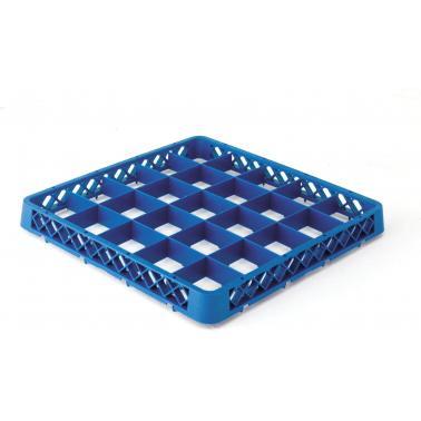 Полипропиленова кошница за съдомиялна , 25 раздела, 50х50х4.5см - Lacor