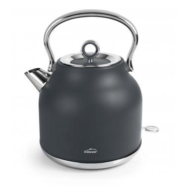 Електрически ретро чайник 220-240V, 50/60Hz, 2200W, 1,70л, 26x19,5x26,5см, 1,20кг - Lacor