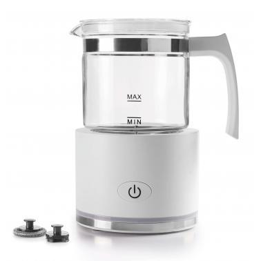 Уред за разпенване на мляко 220-240V,  50/60Hz, 600W, вместимост 250мл, 11,8x11,8x19,5см, 900гр - Lacor