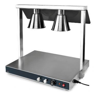 Карвинг стейшън с 2 лампи, 500W (2х250W) 40°C-90°C, 78х53х70см - Lacor